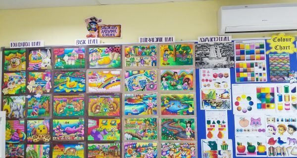 Students Artwork Corner