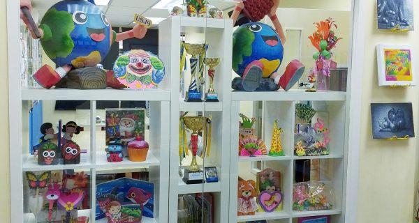 Handicrafts Display Corner