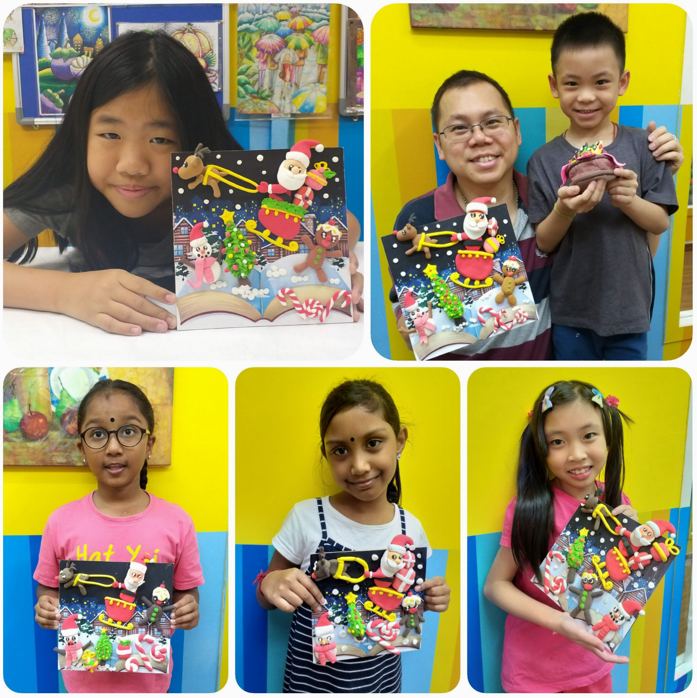 2019 Year End School Holiday Workshop ~ Deco Art ~ Wooden Board Craft – A Tale Of Christmas