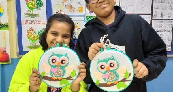 Annual Handicaft – MYO Embroidery Hoop Art