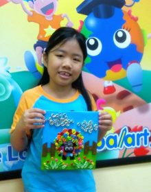 School Holiday Workshop Program – Quilling Art