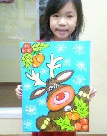 School Holiday Workshop Program – Acrylic Painting