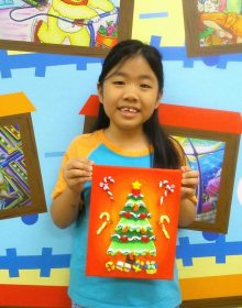 School Holiday Workshop Program – 3D Clay Painting