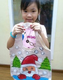 School Holiday Workshop Program – Tote Bag Art
