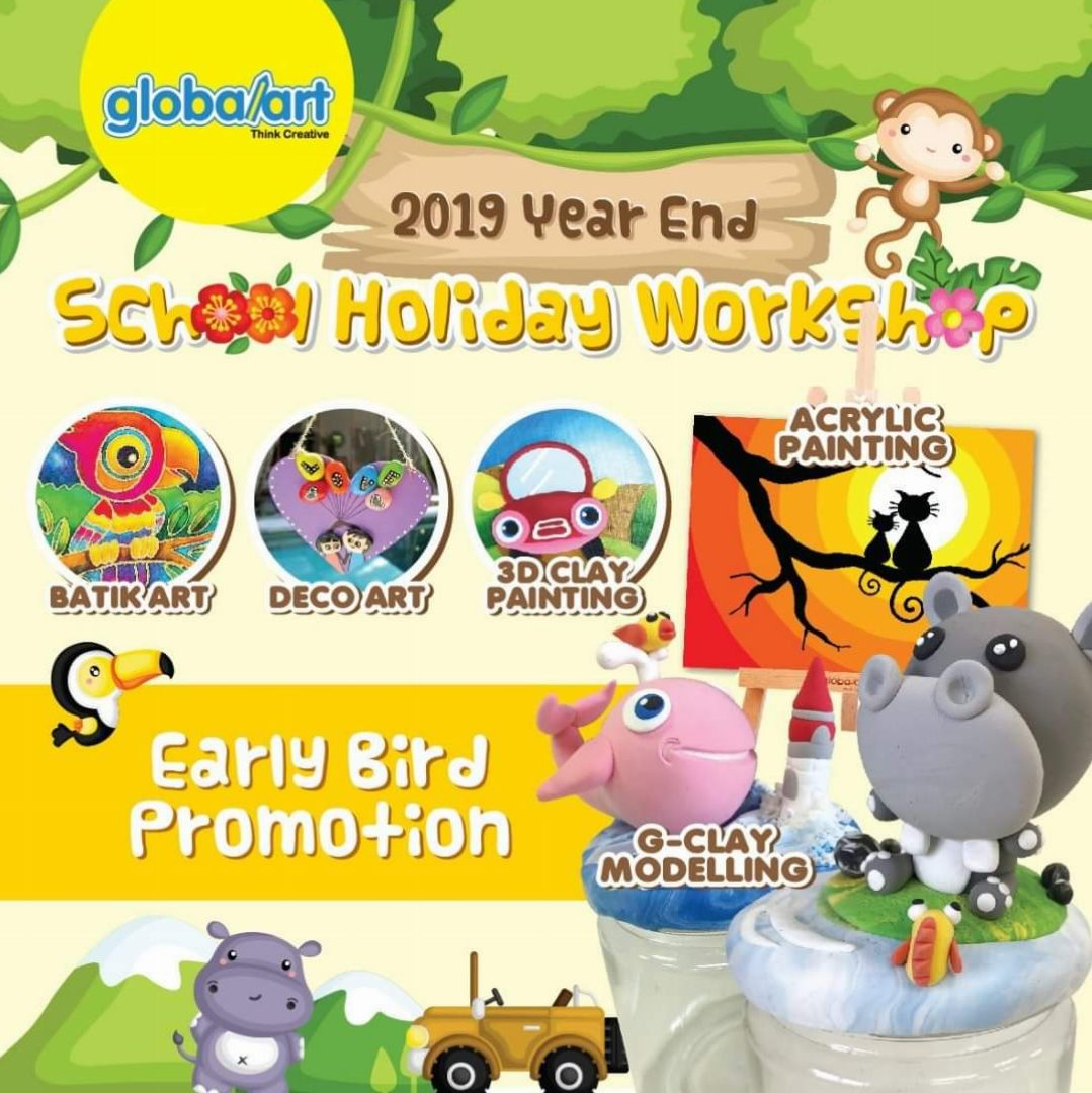 2019 Year End School Holidays Workshop
