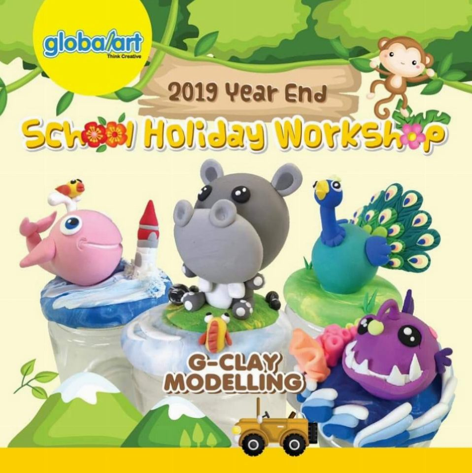 2019 Year End School Holiday Workshop – G-Clay Modelling