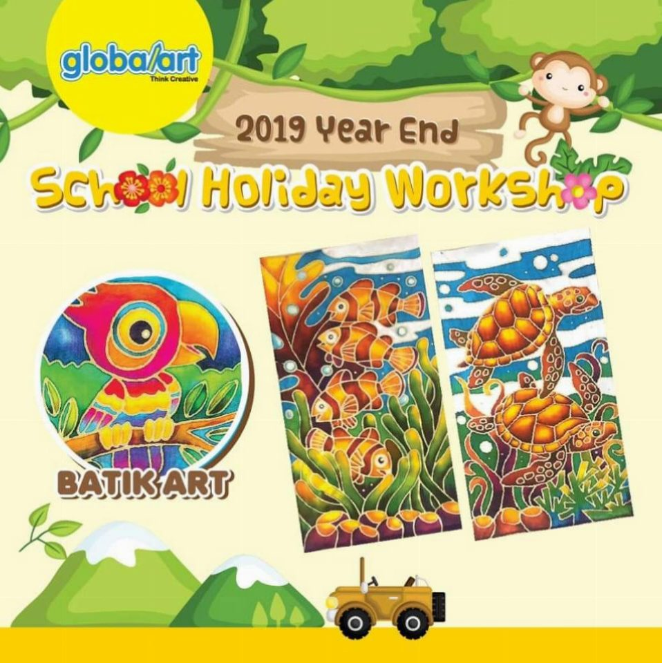 2019 Year End School Holiday Workshop – Batik Art