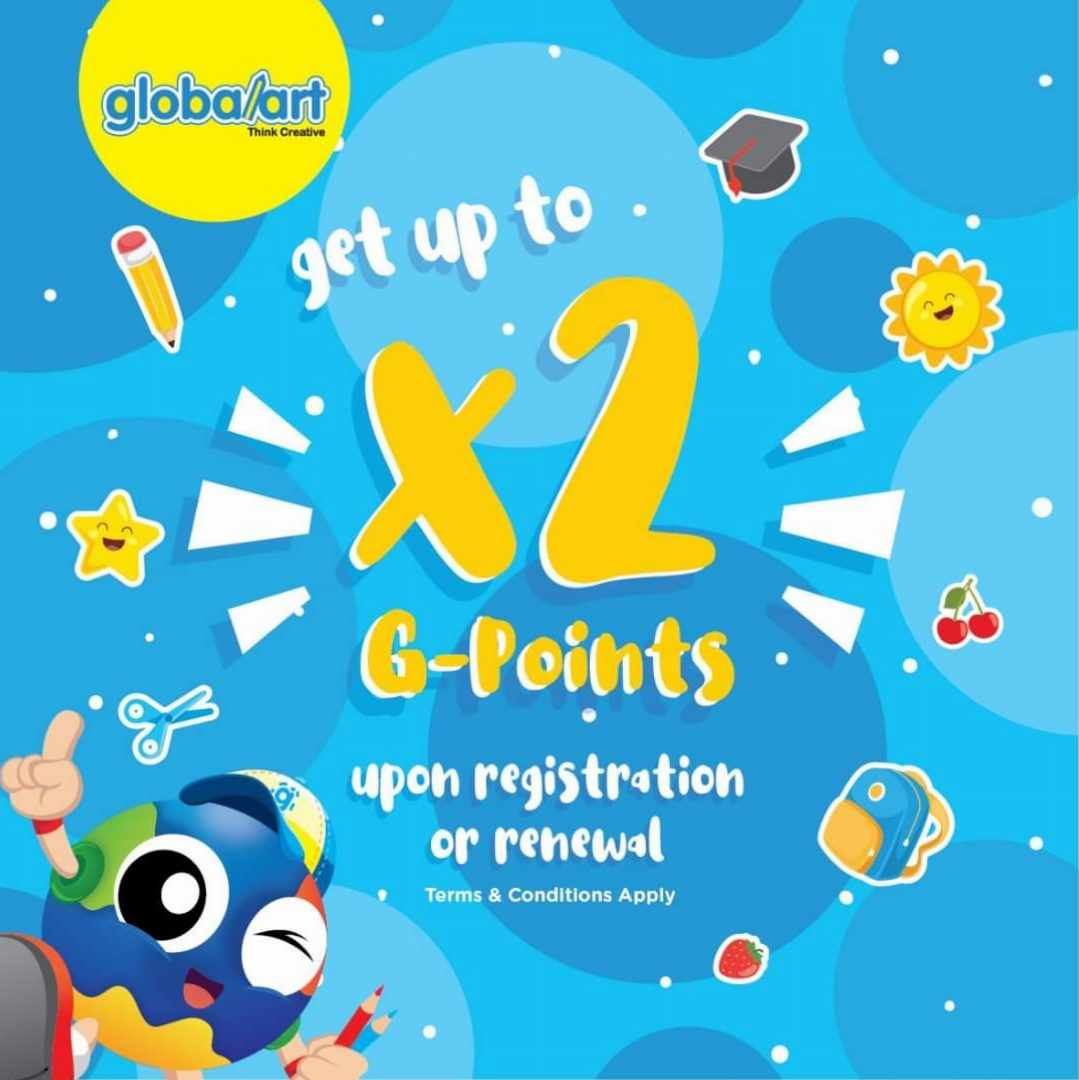 Rewarding With Special G-Points To Every NEW ENROLLMENT Or RENEWAL Students