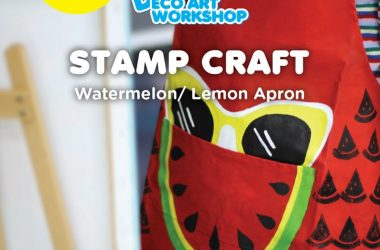 June – Watermelon:Lemon Apron