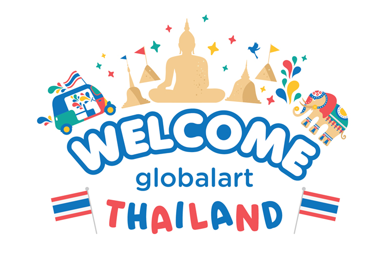 Global Art Thailand's Study Tour to Malaysia
