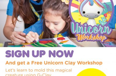 Good Deal! Free Unicorn Clay Workshop