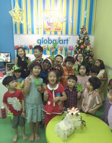 Our 1st Xmas Party in 2015