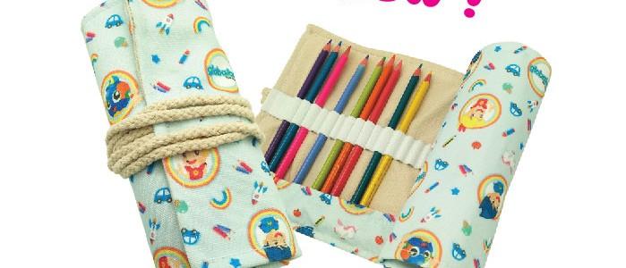 globalart Roll-Up Pencil Case